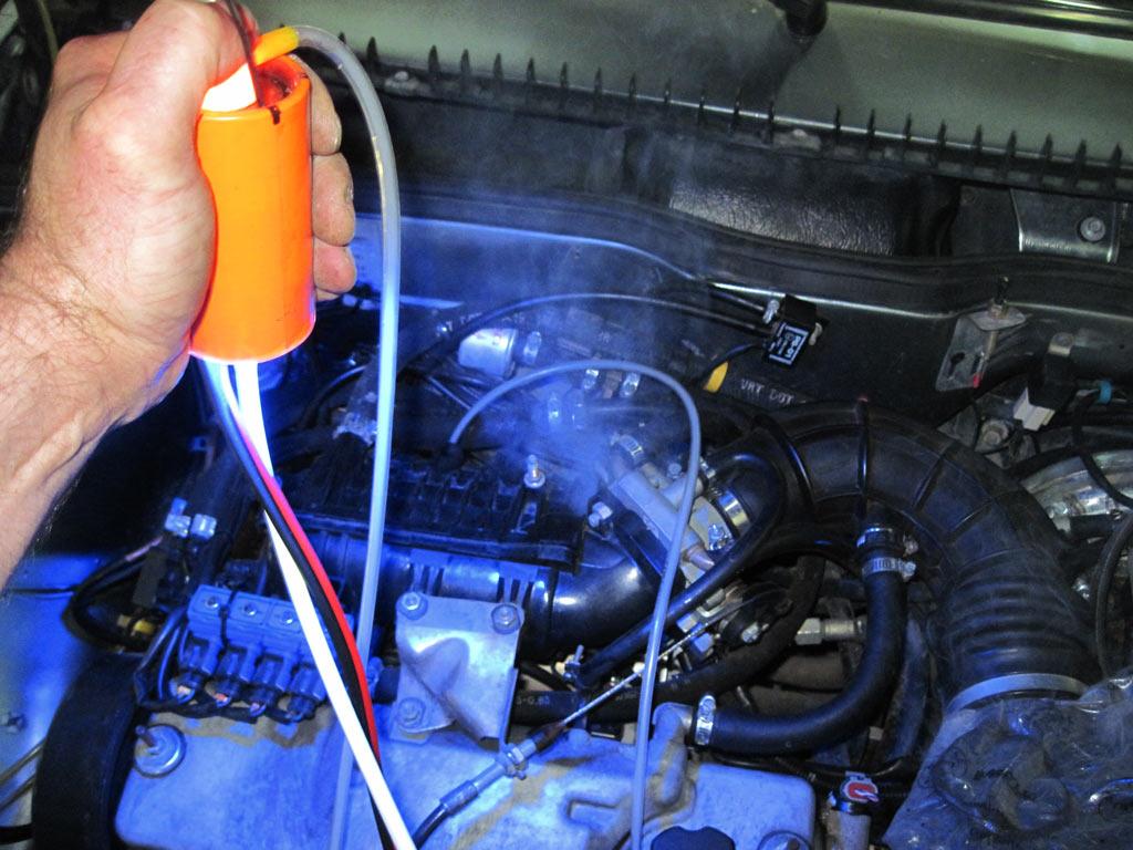 Применение Малогабаритного Автомобильного Генератора дыма