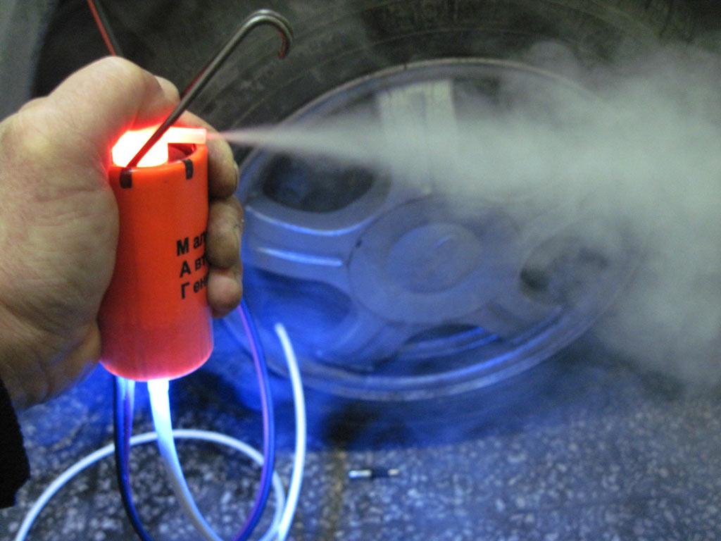 Ремонт дым машины своими руками