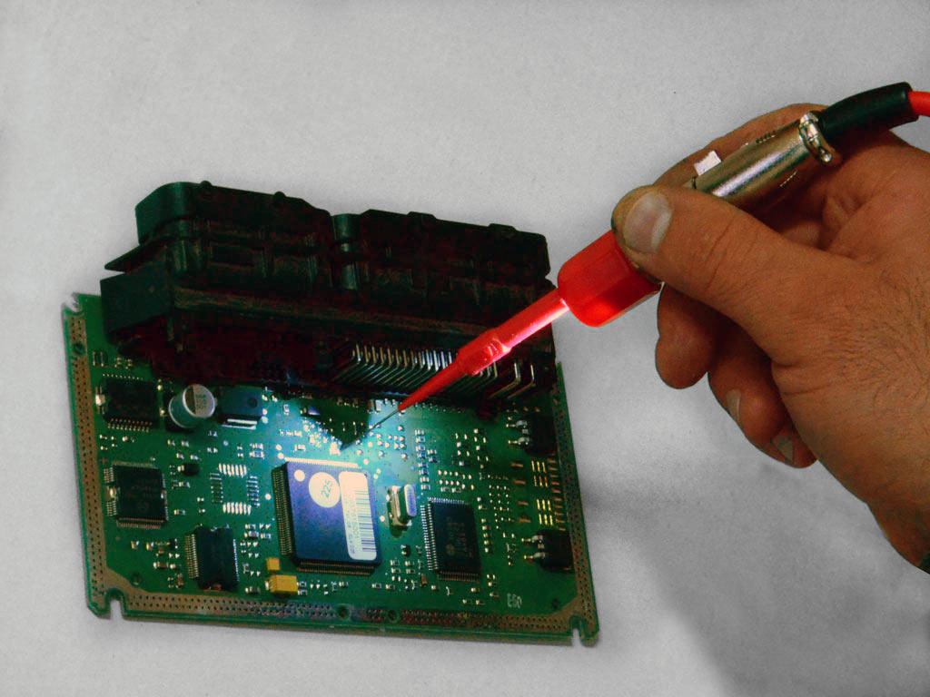 Пример применения измерительного адаптера