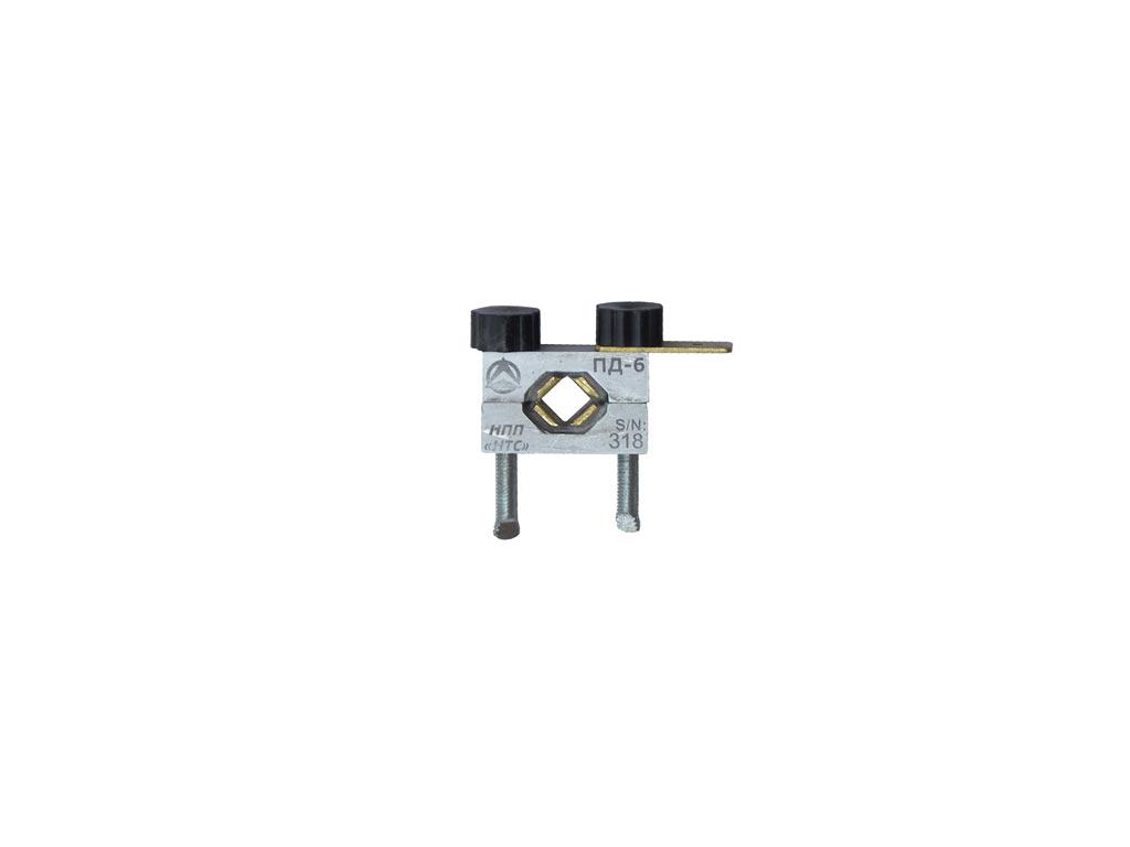 Датчик пульсаций давления ПД-6 в топливопроводе диаметром 6…8mm дизельного двигателя
