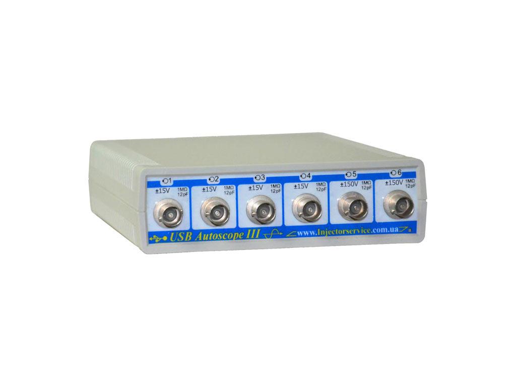 Обновления для USBAutoscopeIII с диапазоном входных напряжений ±15V/±150V