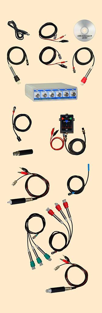 Полный комплект USBAutoscopeIII
