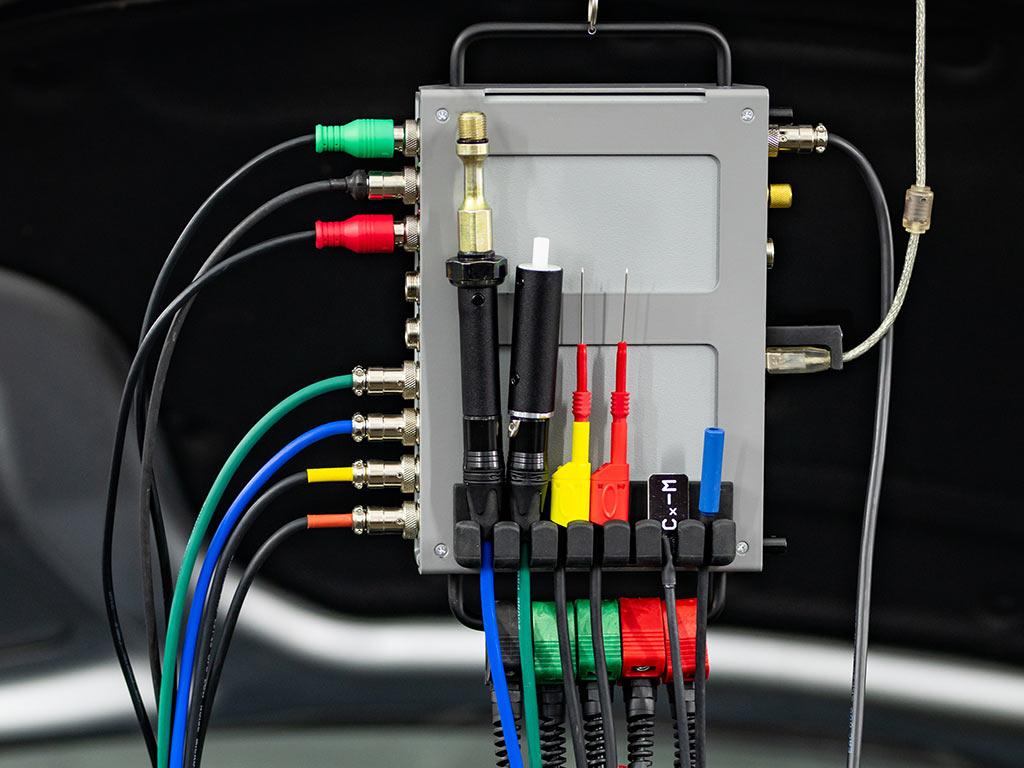 Полный комплект USBAutoscopeIV на подставке-держателе