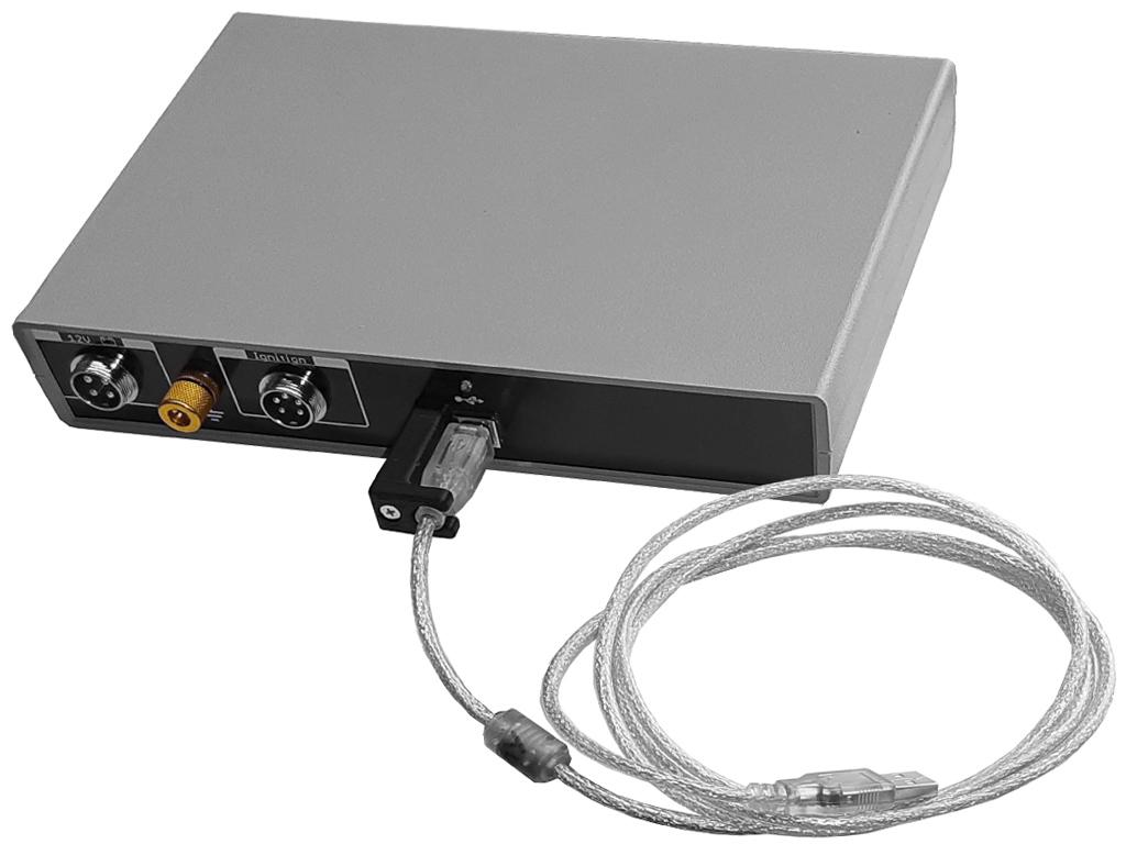 Задняя панель USBAutoscopeIV