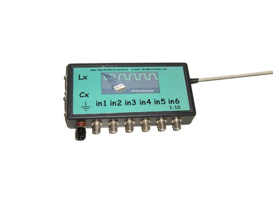 Обновления для USBAutoscope со встроенными входными цепями высоковольтных датчиков