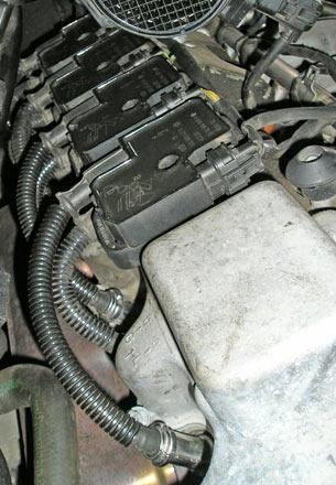 Индивидуальная система зажигания, оснащённая высоковольтными проводами