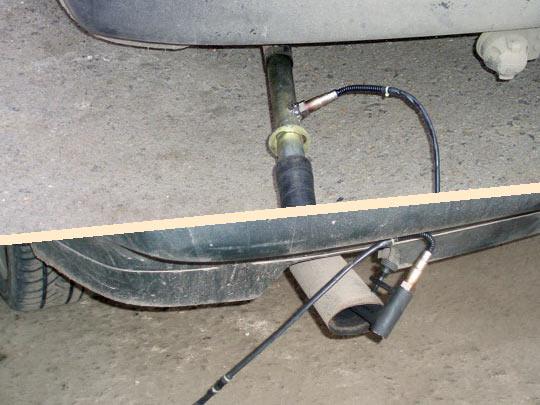 Установка измерительного широкополосного лямбда-зонда