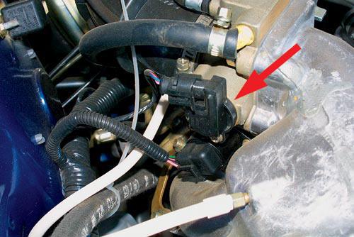 Фото №15 - ВАЗ 2110 замена датчика положения дроссельной заслонки