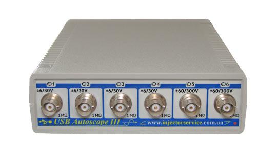 Осциллограф USB Autoscope III